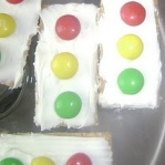 traffic light cakes